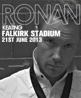 Ronan Keating Falkirk small