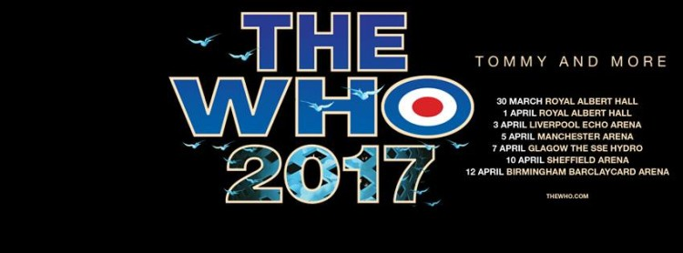 The Who Hydro 7th April 2017