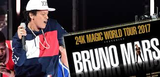 Bruno Mars Hydro 12th April 2017