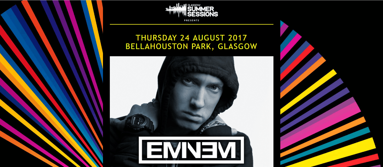 Eminem Bellahouston Park 24th August 2017