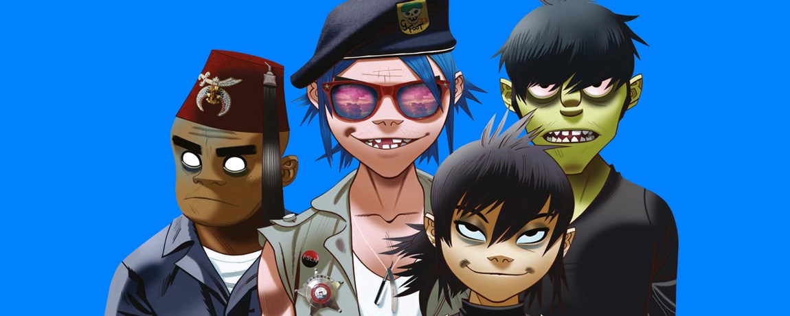 Gorillaz Hydro 29th November 2017
