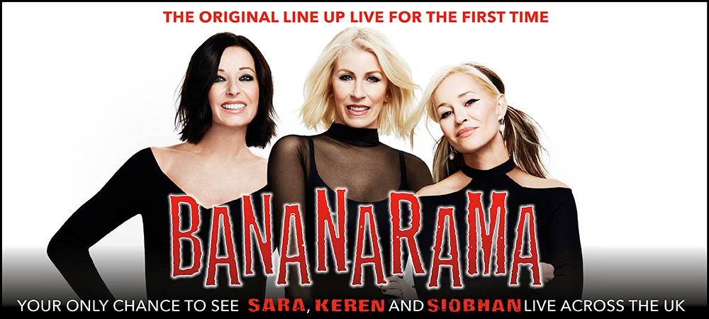 Bananarama Armadillo 11th November 2017