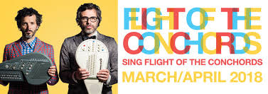 Flight of the Conchords Hydro 26th March 2018