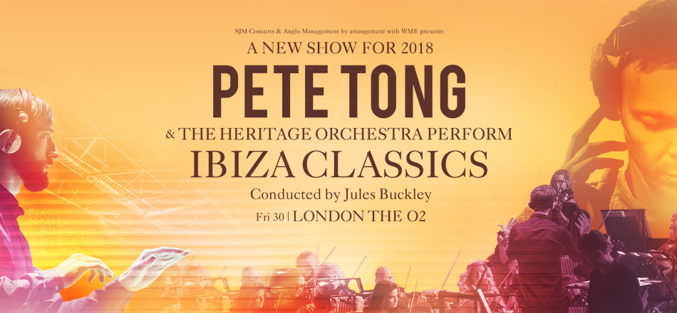 Pete Tong Ibiza Classics Hydro 27th November 2018