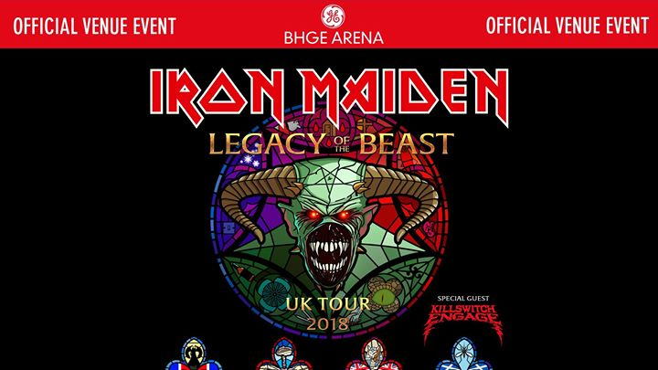 Iron Maiden AECC 4th August 2018