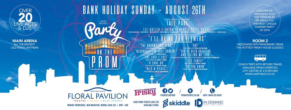 Party On The Prom 26th August 2018