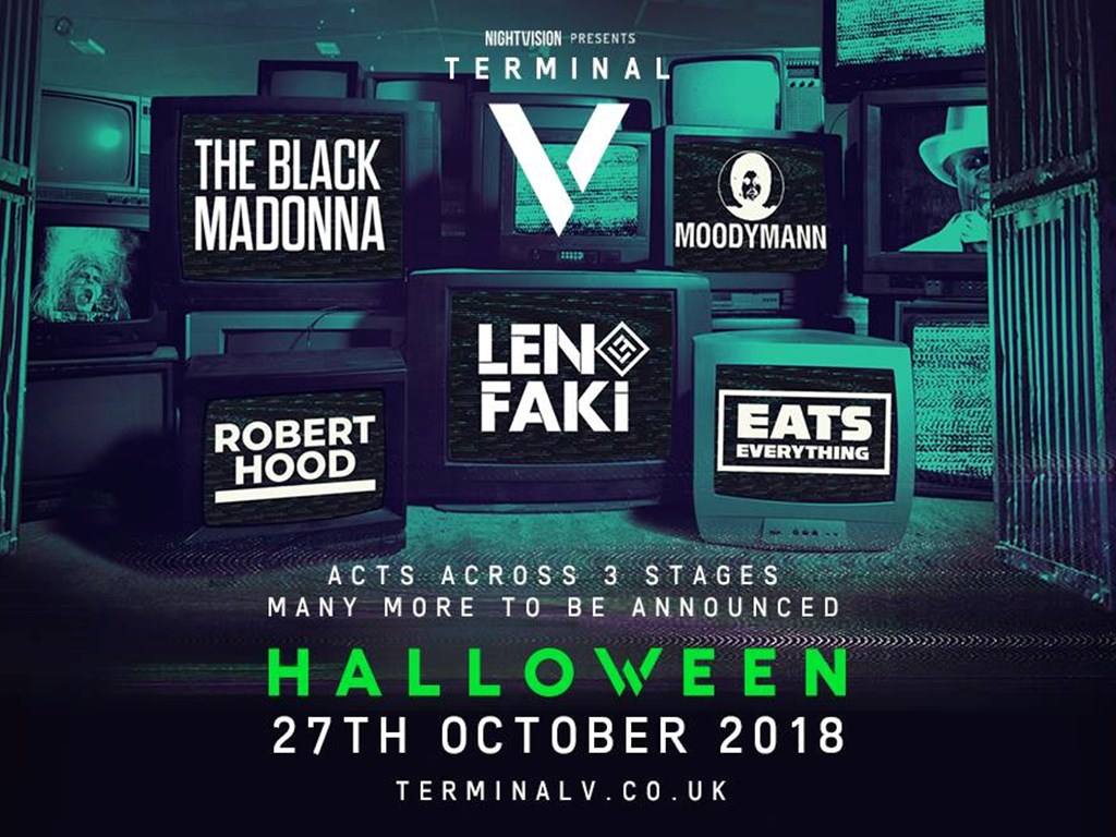 Terminal V Ingliston October 27th 2018