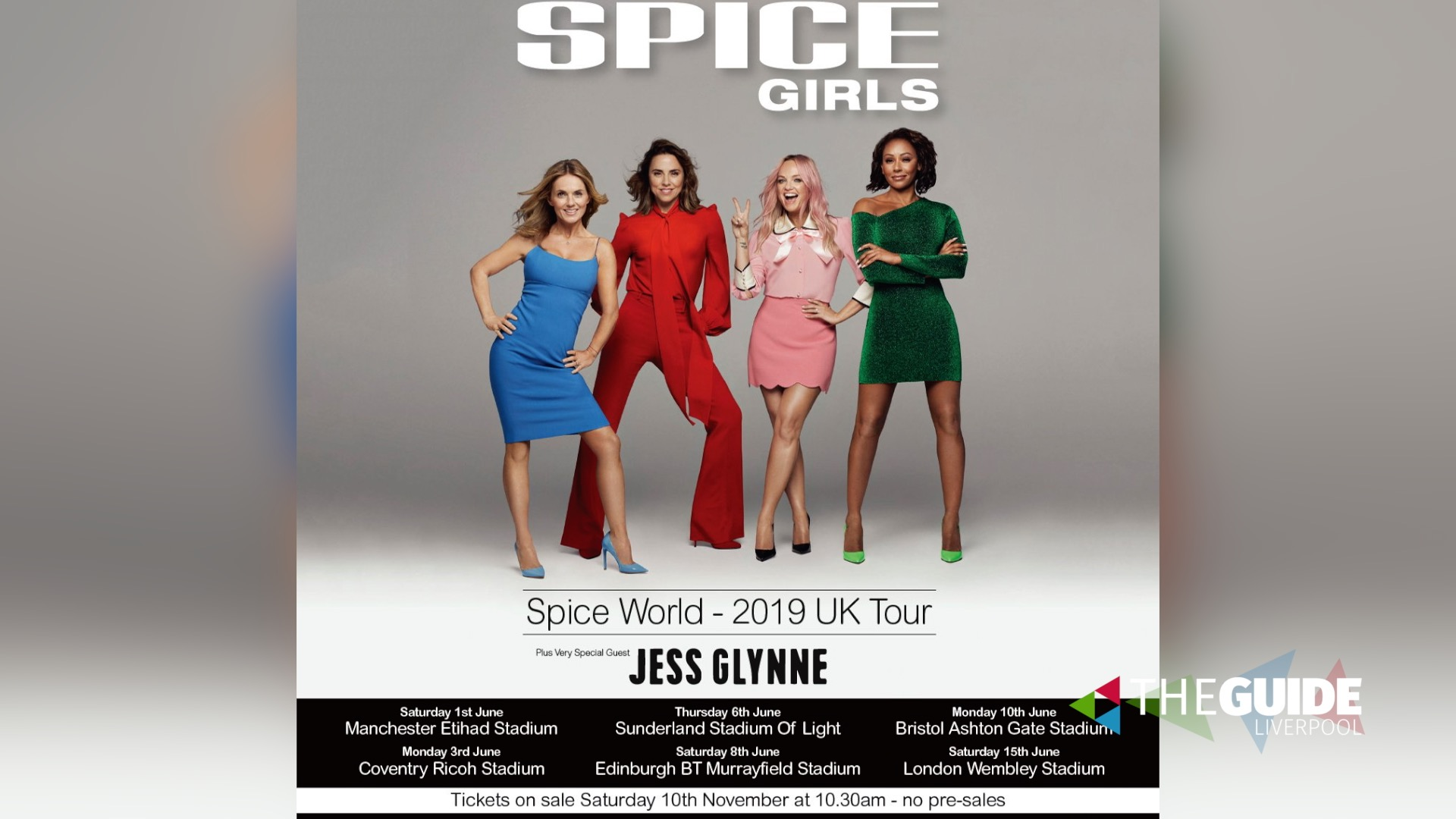 Spice Girls Murrayfield Saturday 8th June 2019