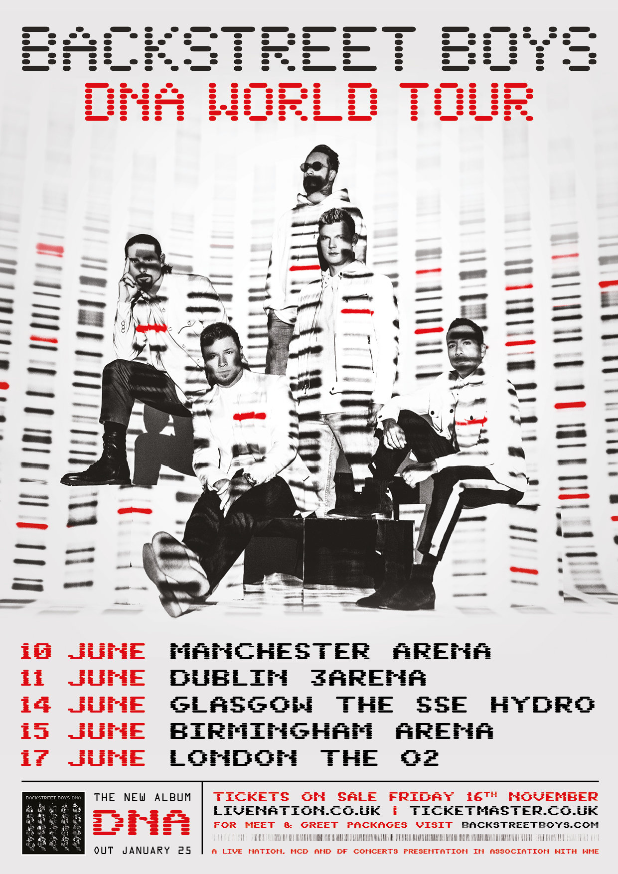Backstreet Boys Hydro 14th June 2019