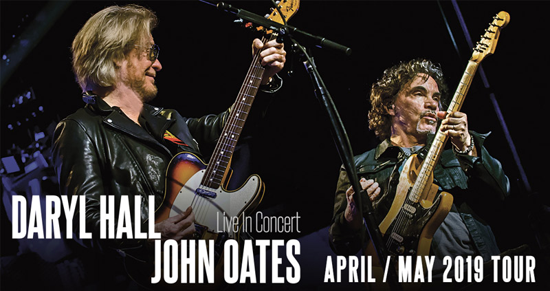 Daryl Hall & John Oates Hydro 1st May 2019