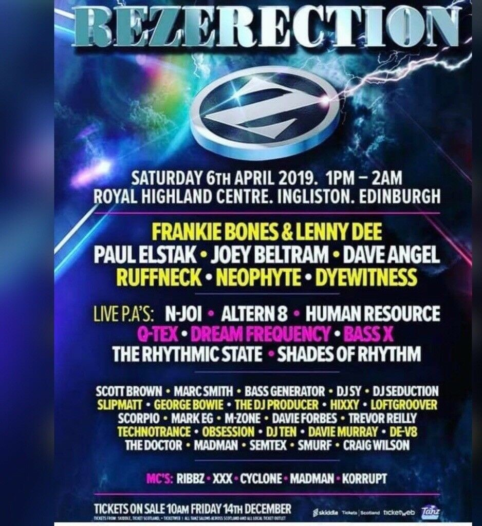 Rezerection Ingliston 6th April 2019