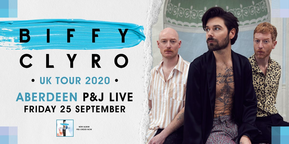 biffy-clyro-aberdeen-25th-september-2020-postponed